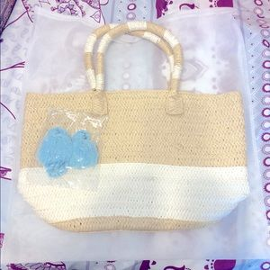 Altru straw bag - fun beach tote